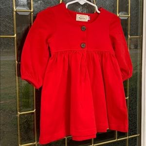 Other - Pearls and PiggyTails red longsleeve dress 12 m